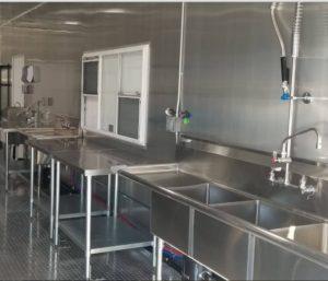 Portable Dishwashing Trailer California USA