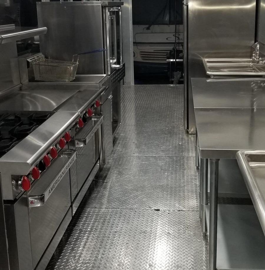 Portable Kitchen Trailer USA