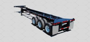40FT CONTAINER TRAILER