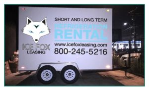 Refrigeration Trailers For Rent