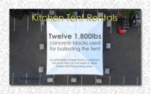 Kitchen Tent Rentals